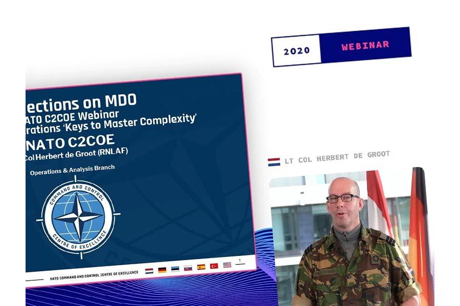 Webinar 2020   LtCol Herbert de Groot - Reflections on Multi-Domain Operations